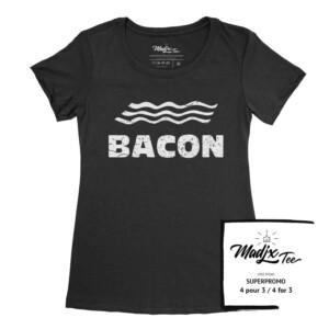 Québec tshirt Bacon t-shirt Québec
