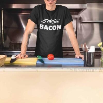 tshirt de bacon Québec, bacon shirt