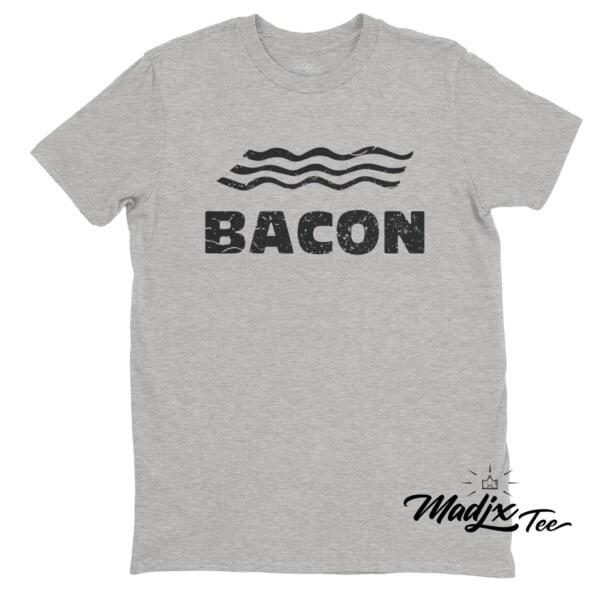 Bacon t-shirt Québec