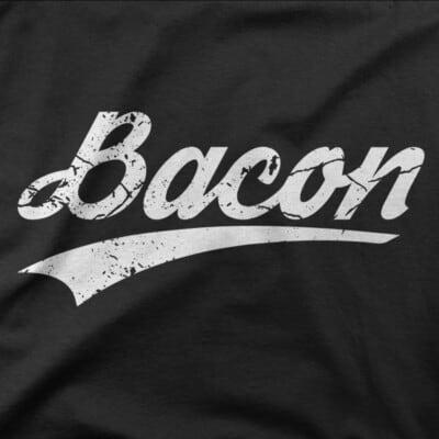 bacon tshirt quebec