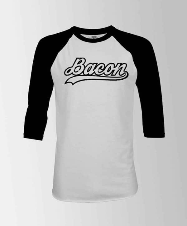 bacon tshirt québec