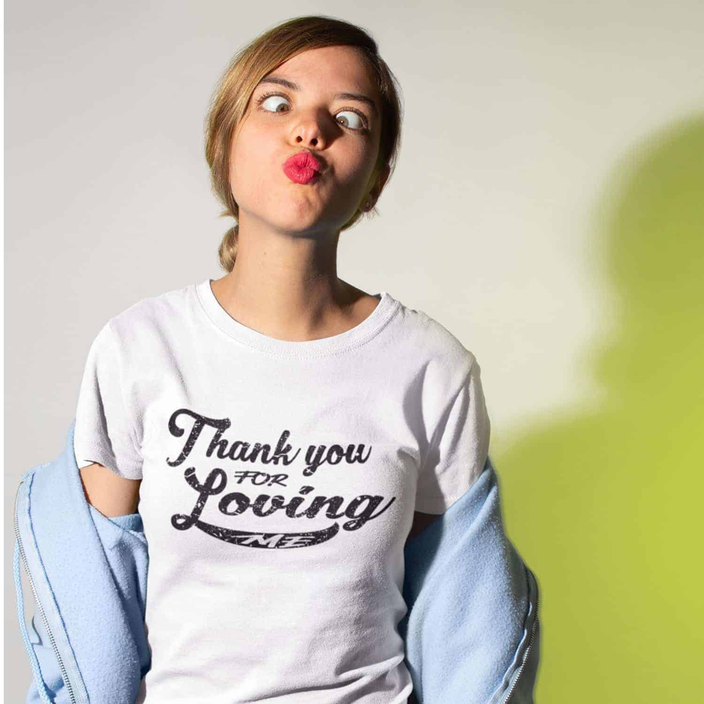 tshirt lovers québec femme