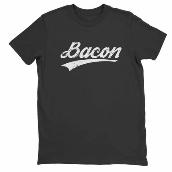 Bacon slice t-shirt, Bacon Addict t-shirt 1