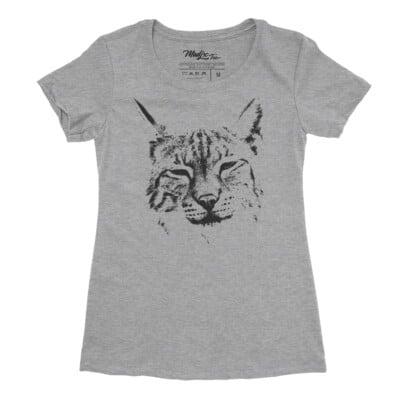 lynx t-shirt bobcat tee t-shirt femme Québec