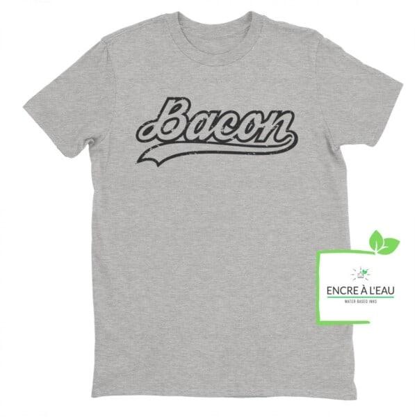 Bacon Baseball T-shirt 4