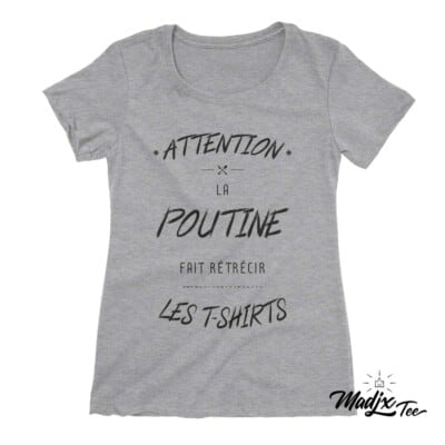 Québec tshirt T-shirts humoristiques