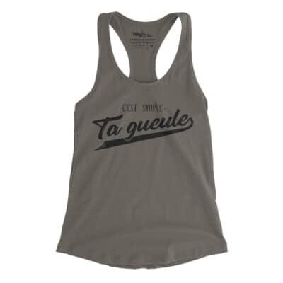 ta gueule Québec camisole