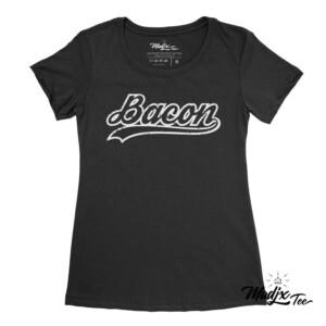 Tshirt de Bacon pour femme