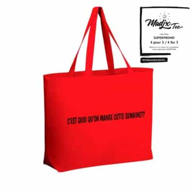 sac d'épicerie réutilisable