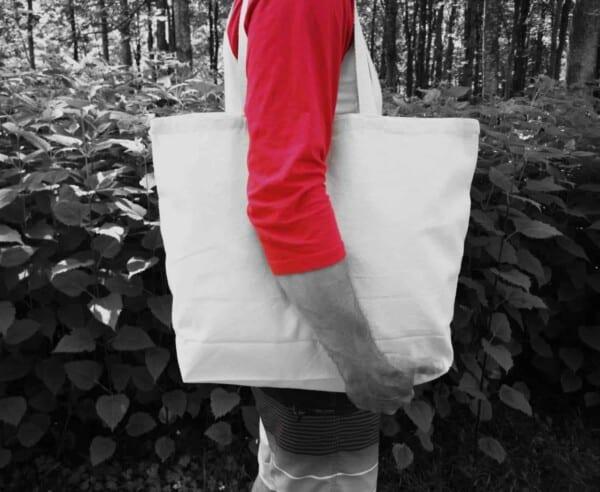 sacs d'épicerie réutilisable-en-tissu