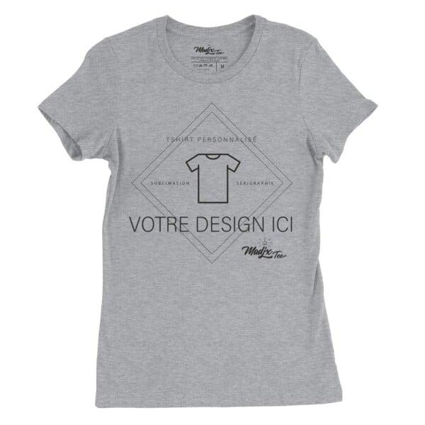 Sérigraphie t-shirt femme