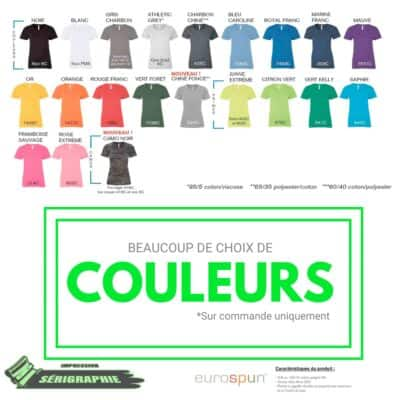 25 T-shirts Sérigraphie pour femme 4