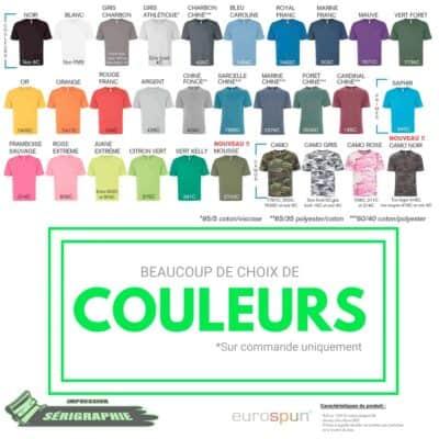 50 T-shirts Sérigraphie homme et/ou femme 8