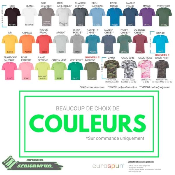 50 T-shirts Sérigraphie homme et/ou femme 4