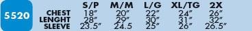 M&O 5520 Manche longue 10