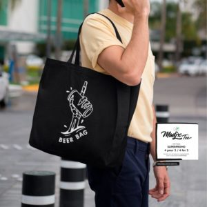 Les sacs d'épicerie Madjx Tee 4