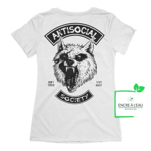 Antisocial Society, Antisocial tshirt   t-shirt pour femme Maladie Mentale 3