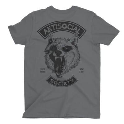 Antisocial Society Antisocial tshirt | Maladie Mentale 11
