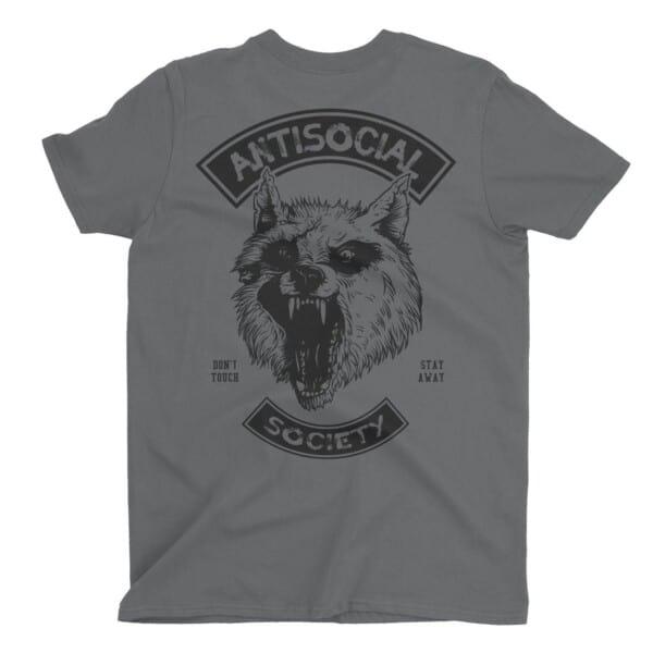 Antisocial Society Antisocial tshirt | Maladie Mentale 4