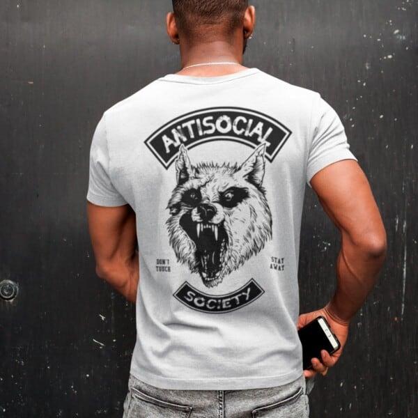 Antisocial Society Antisocial tshirt | Maladie Mentale 5