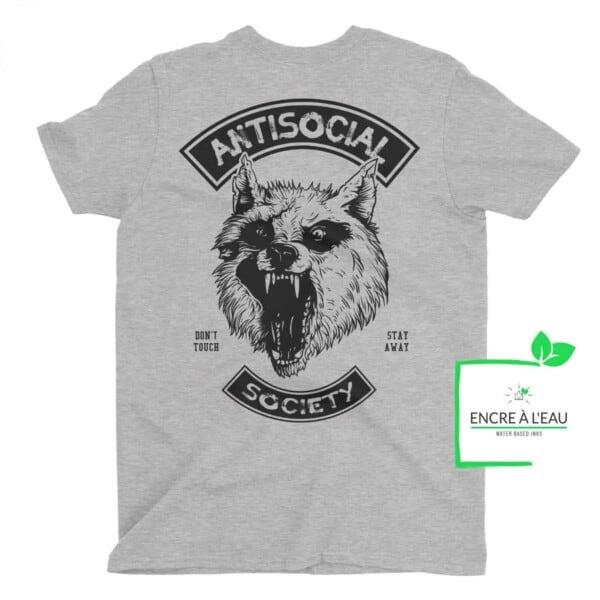 Antisocial Society Antisocial tshirt | Maladie Mentale 1