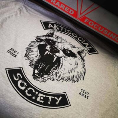 Antisocial Society Antisocial tshirt | Maladie Mentale 10