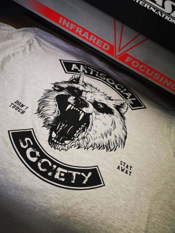 Antisocial Society Antisocial tshirt | Maladie Mentale 3