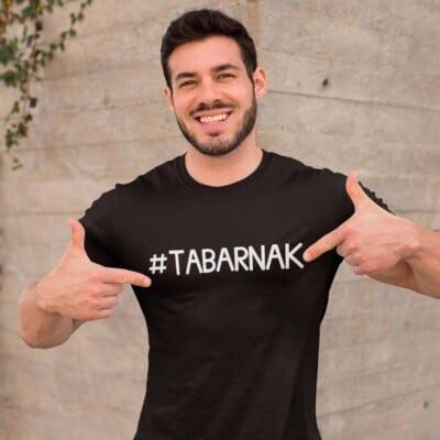 Hashtag Tabarnak tshirt pour homme