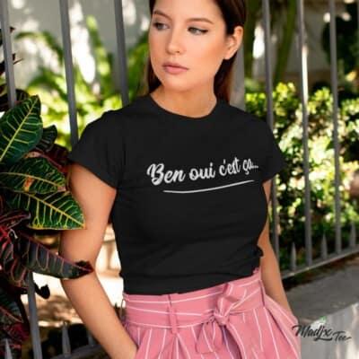 Ben oui c'est ça-t-shirts Drôle - tshirt Québec