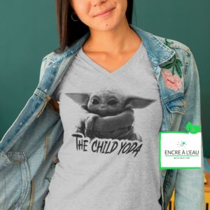 The Child YODA tshirt pour femme