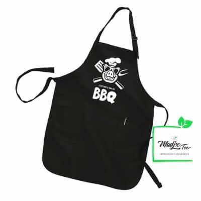 Tablier C'est moé le KING du BBQ tablier Québec BBQ