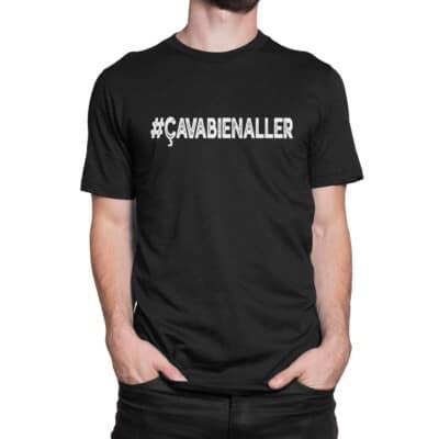T shirt Ca va bien aller Shopping Québécois Covid 19