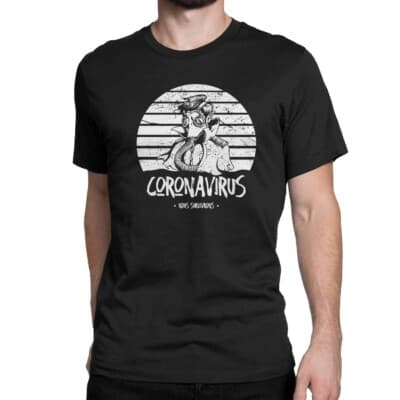 coronavirus t-shirt nous survivrons Québec
