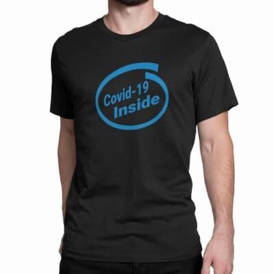 T shirt Covid 19 Inside Shopping Québec