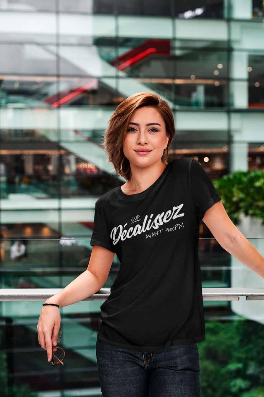 T-shirt Québécois