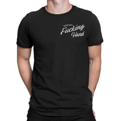 Wash your fucking hands t-shirt pour homme