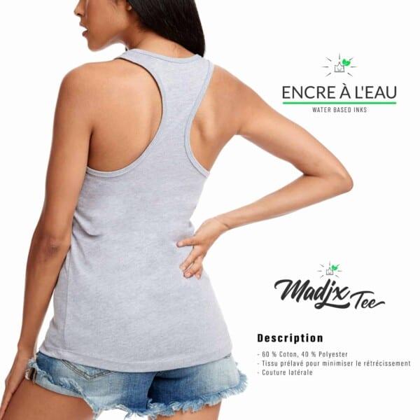 Camisole Dos T shirt Madjx Québec