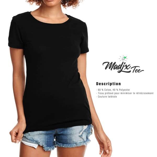 T shirt femme Madjx Québec