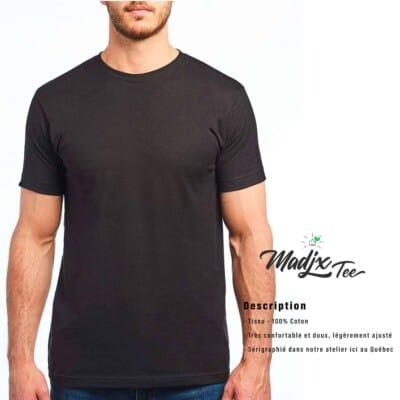 T shirt Madjx Québécois