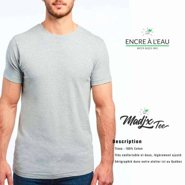 T shirt Madjx Québec