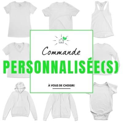t-shirts personnalisés Québec