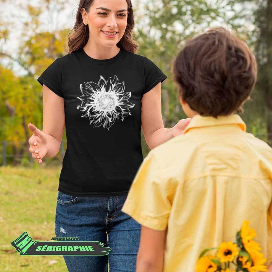 Tournelsol - t-shirt pour femme