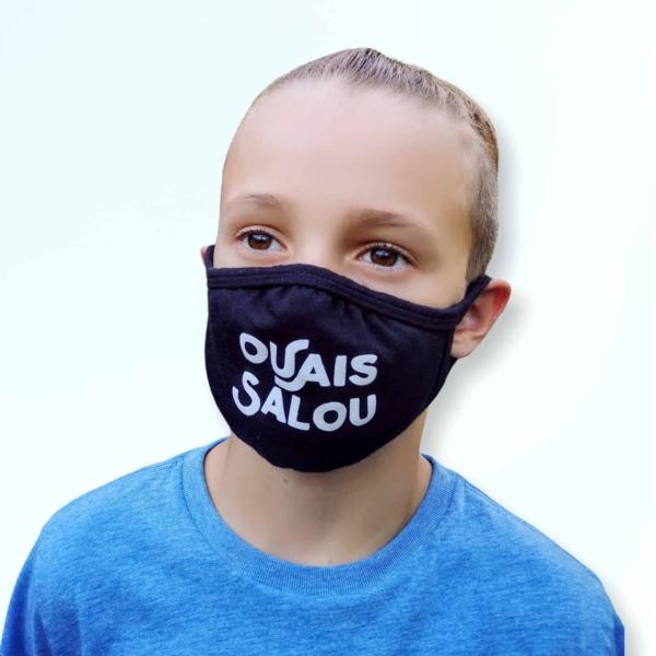 Masque d'enfant Québécoise