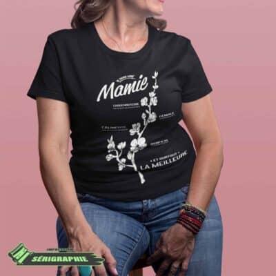 Je suis une mamie t-shirt 8