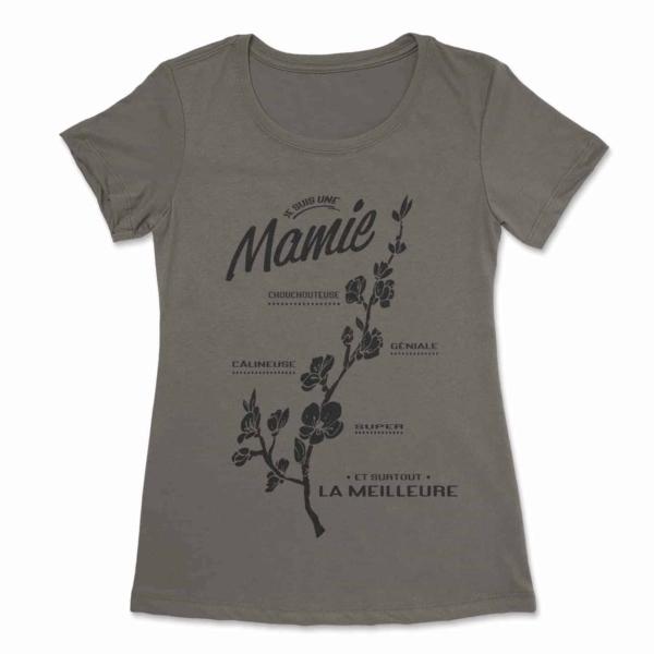 Je suis une mamie t-shirt 5