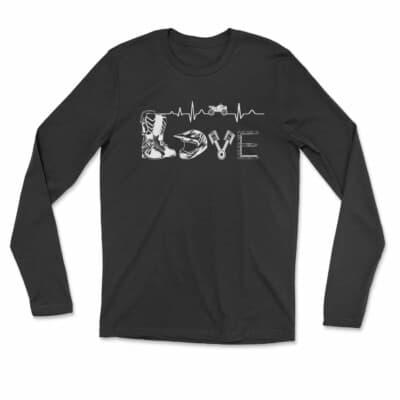 LOVE VTT Tshirt manche longue Unisexe