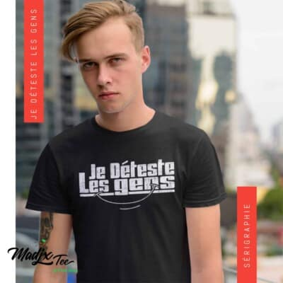 Je déteste les gens t-shirt pour homme