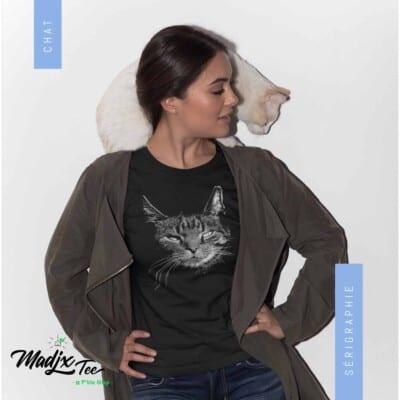 T-shirt de chat 2020