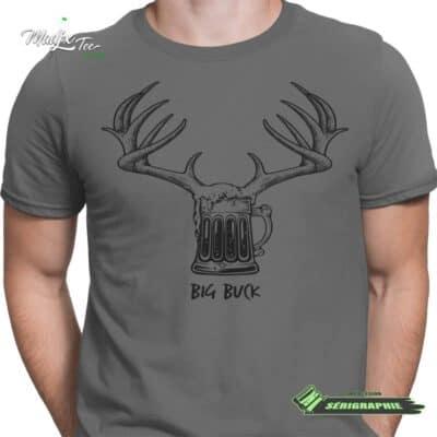 Big Buck impression encre à eau fait au Québec 5