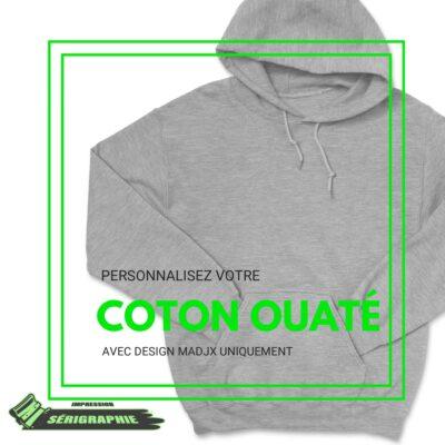 coton ouaté hoodie